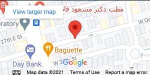نقشه مطب دکتر محمدی